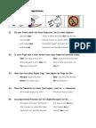Einheit 5- Verben mit festen Präpositionen - Regeln, Liste, Übungen