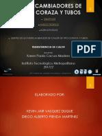 Presentacion Intercambiador CORAZA  Y TUBO