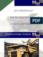 Curso Camiones 830E BHP Billiton Tintaya