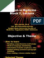 (Dr. Etty) English in Medicine Lecture