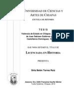 Violencia de Estado en Chiapas 1979-1985