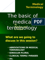 Medical Terminology3-The Basic of Medical Terminology-2003