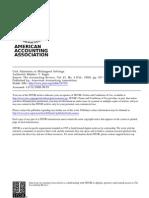 Cost Allocation in Multi Agent Settings