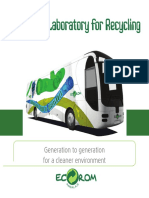 The Green Laboratory for Recycling Brochure