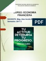 Economia Financiera 1 UNMSM