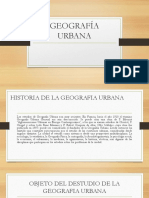 Geografia Urbana
