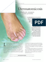 Dermatomicosis tiñas - micologia
