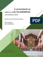 Analisis de La Iglesia de Santa Cruz, Villahermosa
