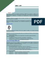 Normativa Asme y API