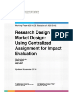 SEII Discussion Paper 2016.08 Abdulkadiroglu Et Al Impact Evaluation