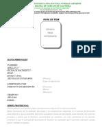 Formatos Ppi - Iniciación a Tercer Semestre - Enero 30 de 2016
