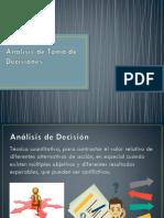 Análisis de Toma de Decisiones