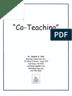 Co Teaching Full Day Villa, 2008