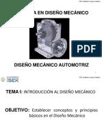 CE 1 Introducción Al Diseño Mecánico