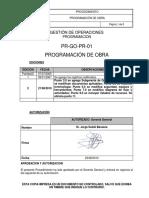 Instructivo Programa de Obra PR-GO-PR-01