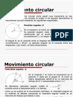 Cinemática - Mov. Circular