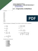 Lista 1 EE_PC1