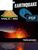 Volcanoes, Earthquakes & Tsunamis