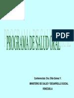 Programa de Salud Oral en Venezuela