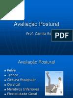 Aula 3 - Avaliação Postural