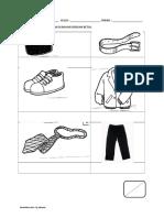 lembaran kerja pakaian