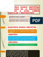 Anastesio Gineco Obstetra, Fisiología de La Gestante