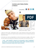 30 Dúvidas Esclarecidas Pelo Baba Maike Figueredo – Baba Kekere _ Orisabrasil
