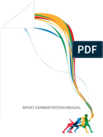 10.4 Sport Administration Manual