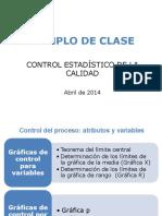 Ejemplos Control de Calidad 2014