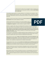 Chile Presenta Alegatos