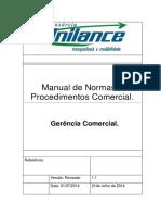 Manual de Normas e Procedimentos Area Comercial