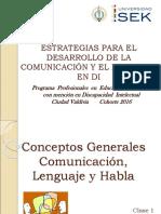 Clase 1 Comunicacion, Lenguaje y Habla (1)