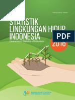 BPS - Statistik Lingkungan Hidup Indonesia 2016