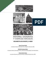 Historia, Geografia y Ciencias Sociales 4º Medio-Guía Didáctica Del Docente