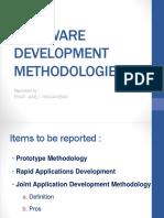 Software Development Methodologies Report