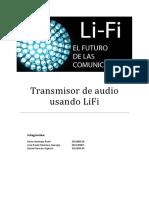 Transmisor de Audio Usando LiFi