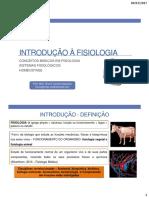 01-Introdução à Fisiologia
