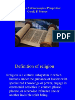 Judaism in Anthropological Perspective