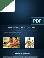 Medicina en La Epoca Colonial