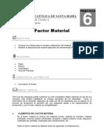 Guia 6-Factor. Distrib. Material