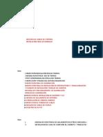 Lista de Protocolos Electricos