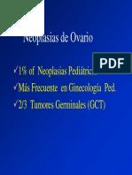 Neoplasias de Ovario