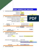 Método de Análisis Sísmico Simplificado