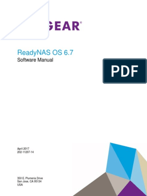 Netgear ReadyNAS OS 6 7 Software Manual | Operating System