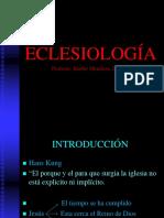 ECLESIOLOGÍA