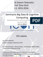 Seminario Big Data Sist Telematici a.S.2015-2016 Fond ICON