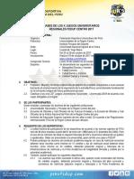 Bases de La Region FEDUP CENTRO 2017