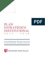 PlanEstrategicoUCV 2013 2016 (1)