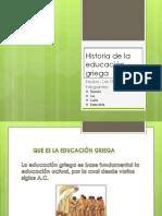 1-Historia de La Educacion Griega