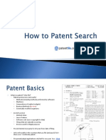 How tosearchpatents